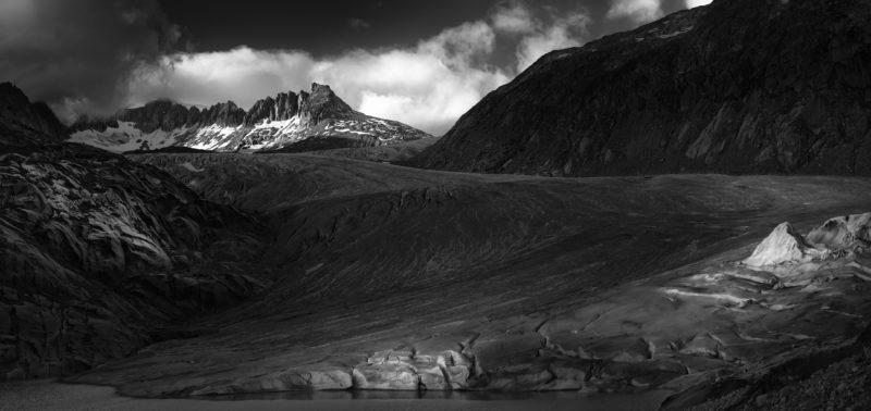 Monochrom Landschaft