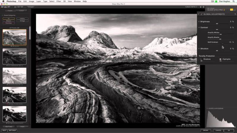 Schwarz-Weiss-Fotografie Software