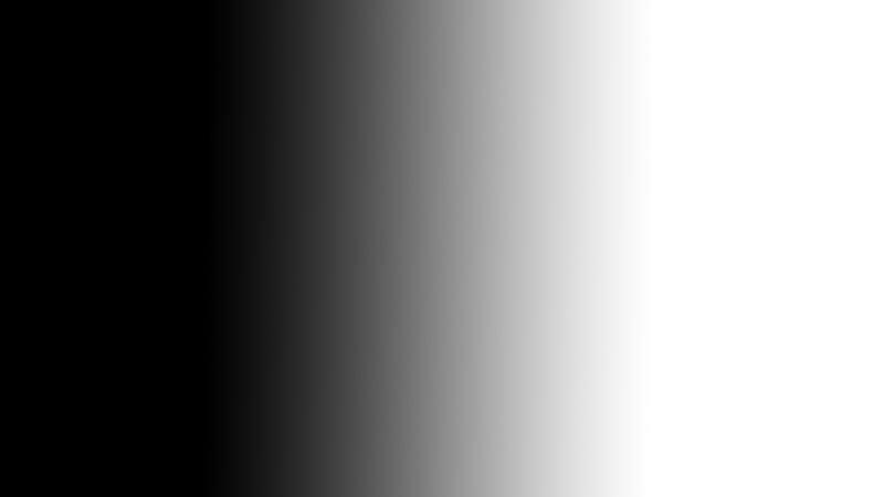 Schwarz-Weiss-Fotografie Verlauf