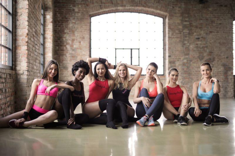Gruppenfoto Athletisch