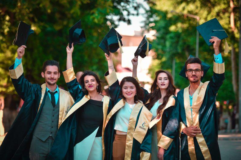 Gruppenfoto Graduation