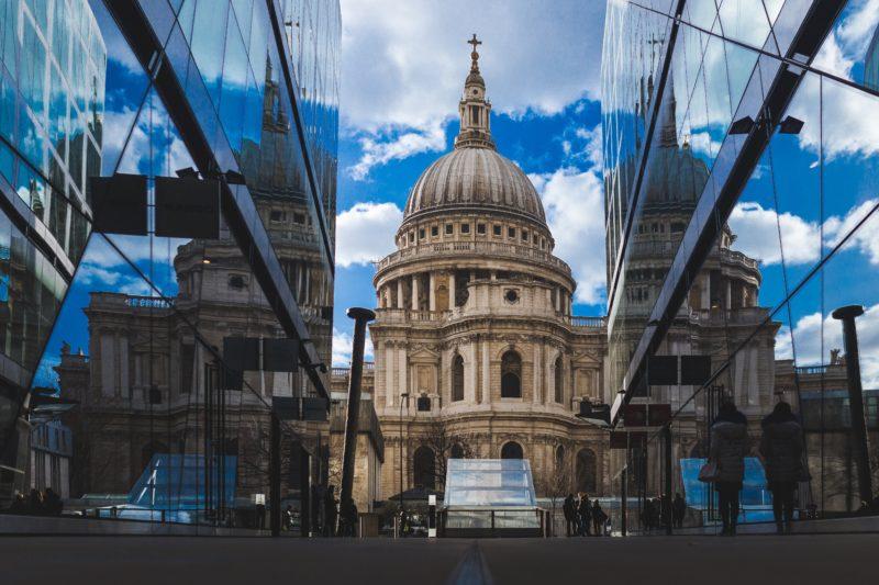 Spiegelungen fotografieren- Gebäude-London