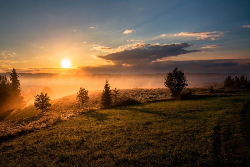 goldene stunde sunrise