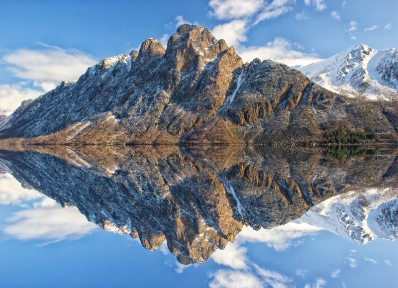 Spiegelungen fotografieren - Spiegelung Bildmitte