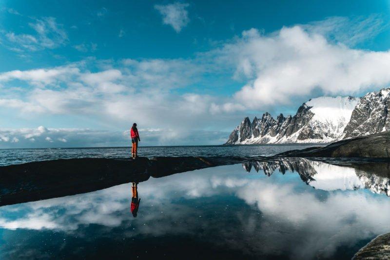 spiegelungen fotografieren anleitung berge see