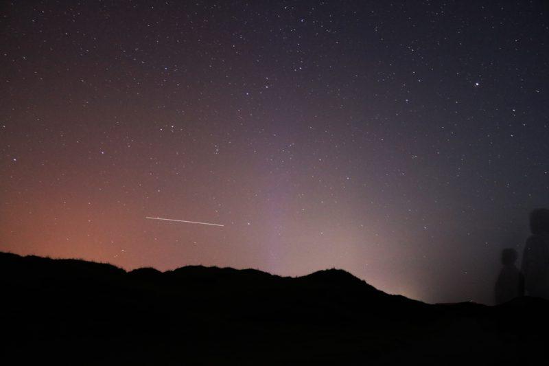 Sternschnuppen ISS