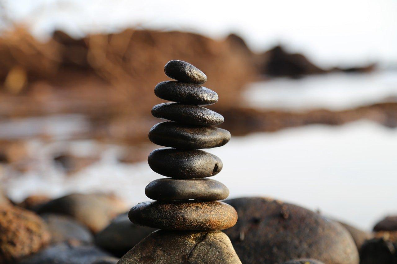 Bildsprache - Steine im Fokus