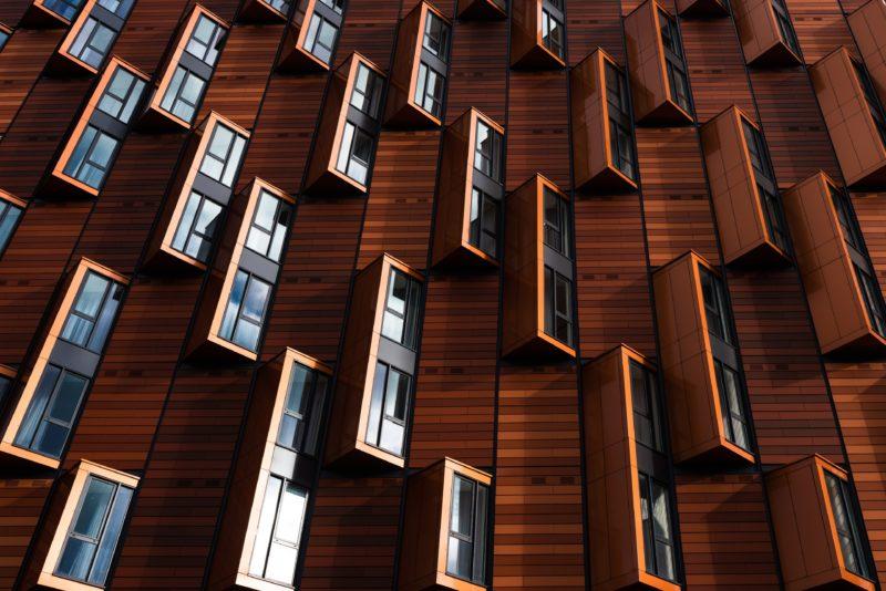 Architekturfotografie: abstrakte Fenster