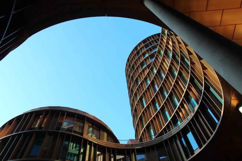 Architekturfotografie: geschwungene Linien