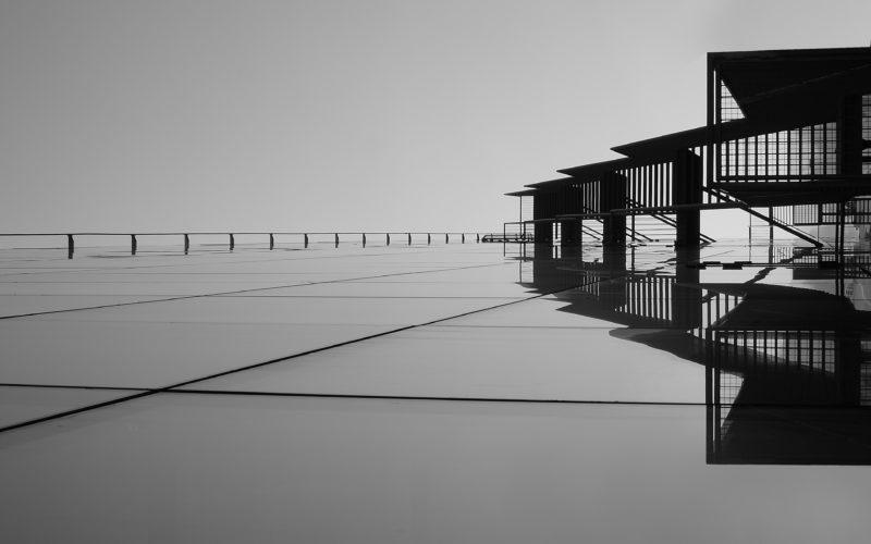 Architekturfotografie Schwarz-Weiss