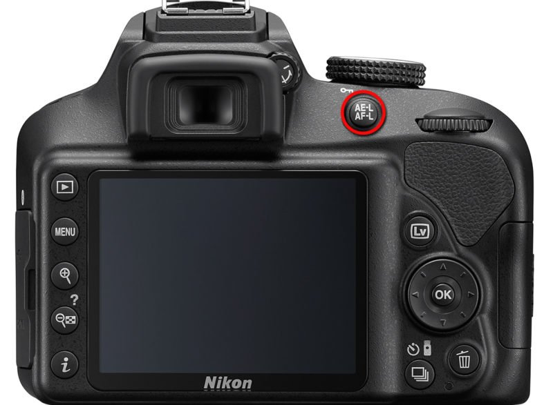 AE-L AF-L Taste Nikon Kamera