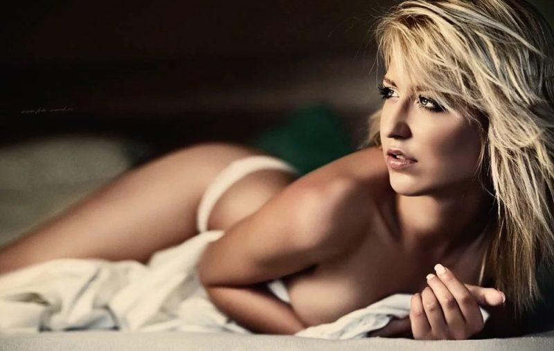 Glamour Model Nacktheit
