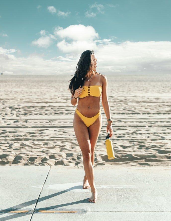 Modelmasse Bikinimodel