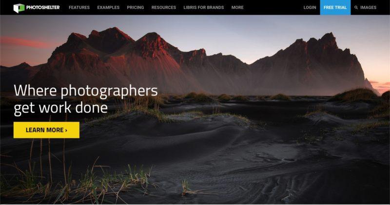 Fotos verkaufen PhotoShelter