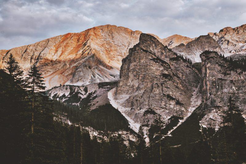 nachbearbeitung schöne berglandschaft