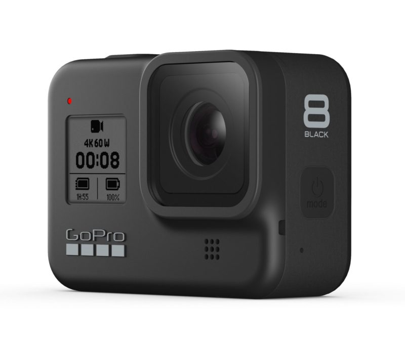 GoPro Hero 8 in schwarz