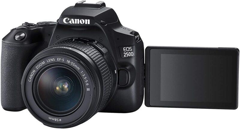 Reisekamera Spiegelreflex Canon EOS 250D