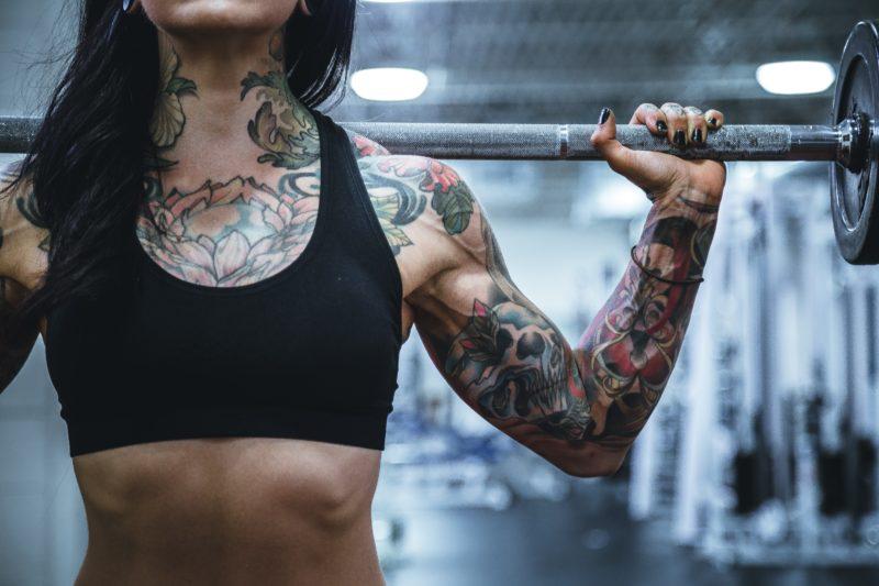 tattoo model stemmt hantel