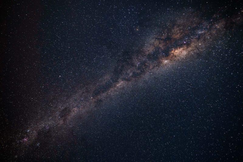 Bulb-Modus Milchstraße