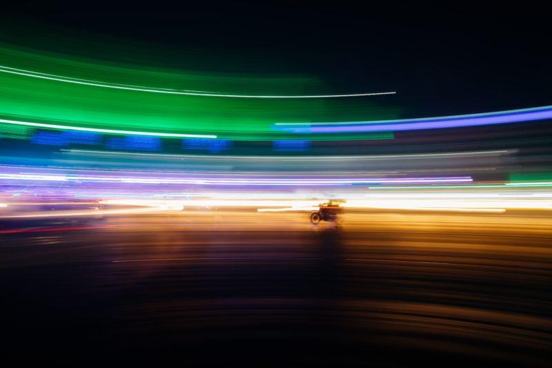 Lichtmalerei kinetisch