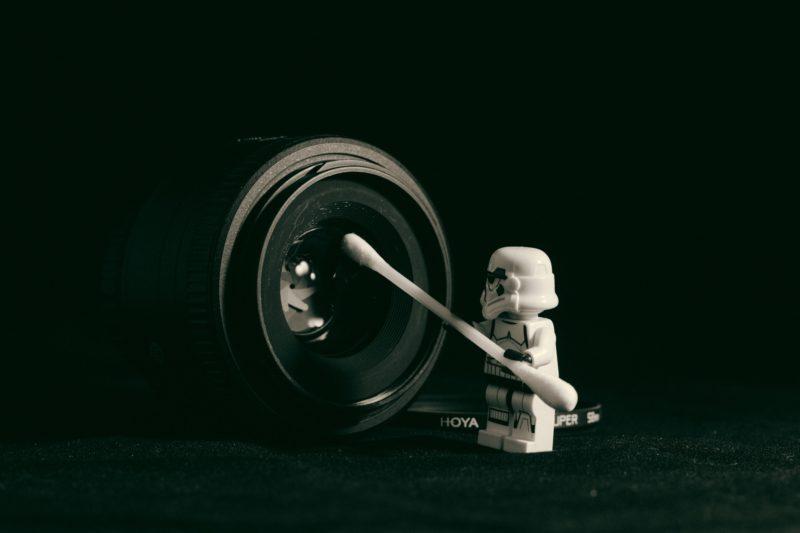 Scharfe Fotos Objektiv reinigen