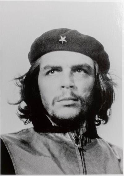 porträt von guerrillero heroico schwarz weiss gehoert zu beruehmte fotos