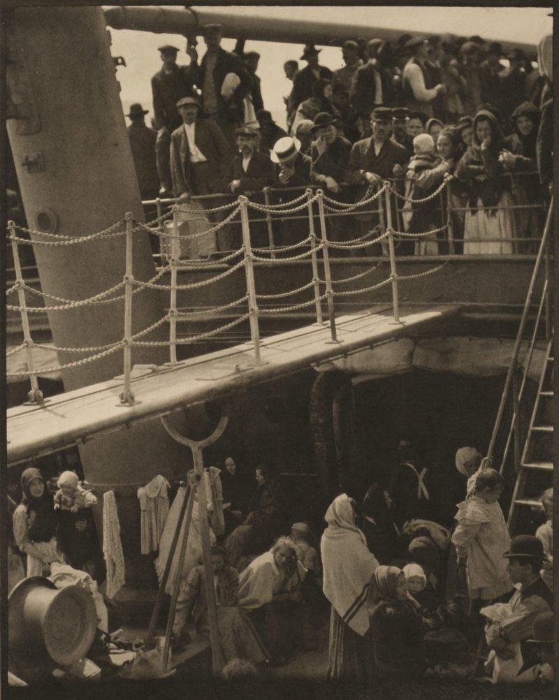 altes foto einer schiffsfahrt