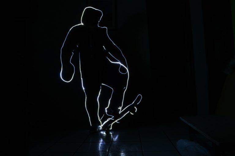Lightpainting Lichtmalerei Anleitung