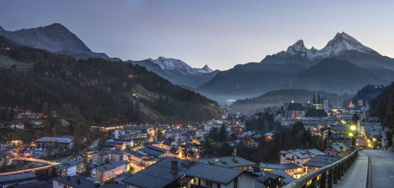 berglandschaft fotografiert mit panorama foto app
