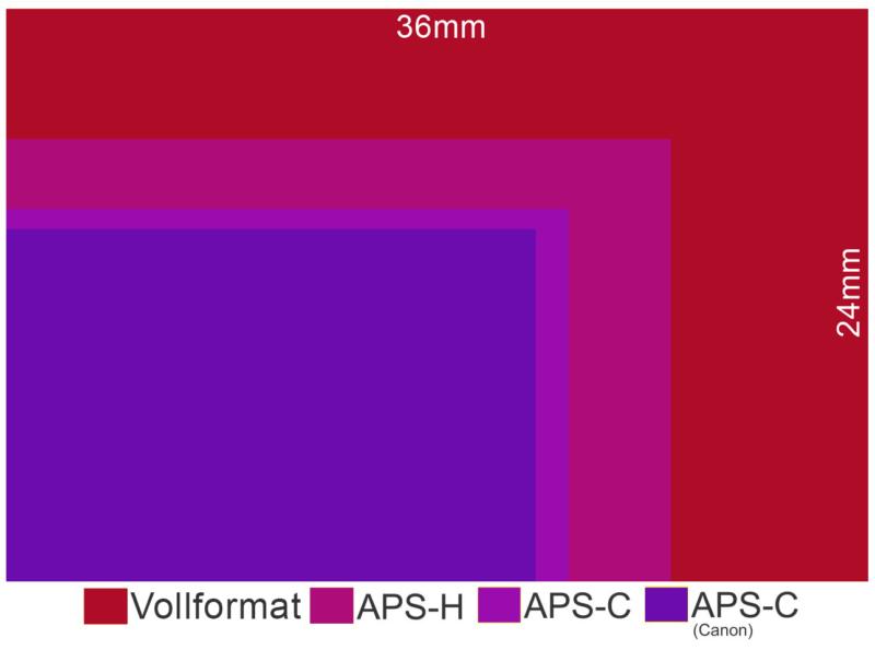 sensorgrösse aps-h vergleich