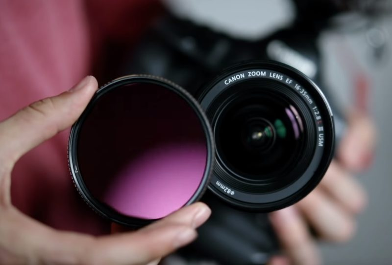 Kamera Filter Anleitung und Erklärung