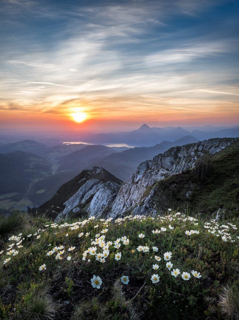 Kamera Filter Sonnenaufgang