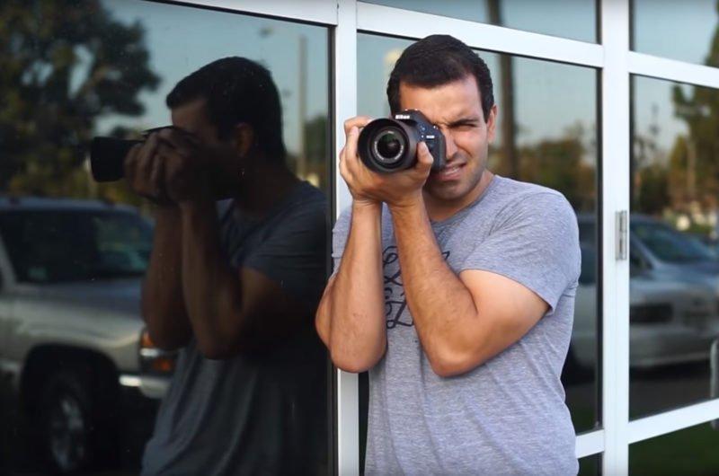 Kamera halten anlehnen