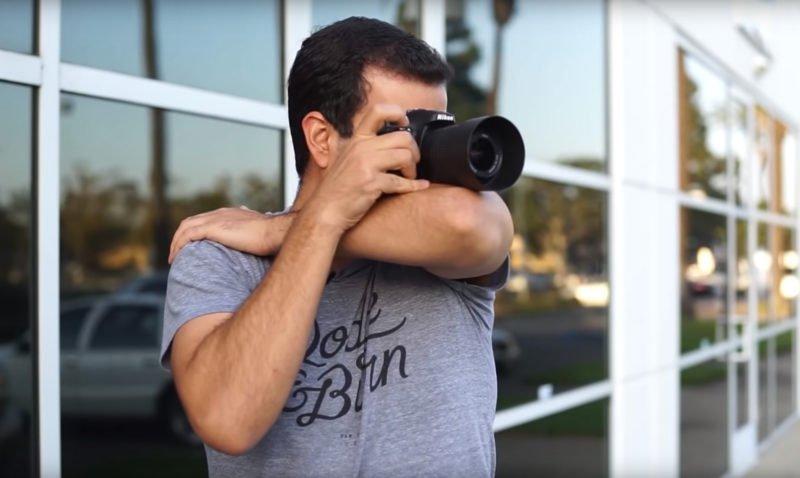 Alternative Kamerahaltung