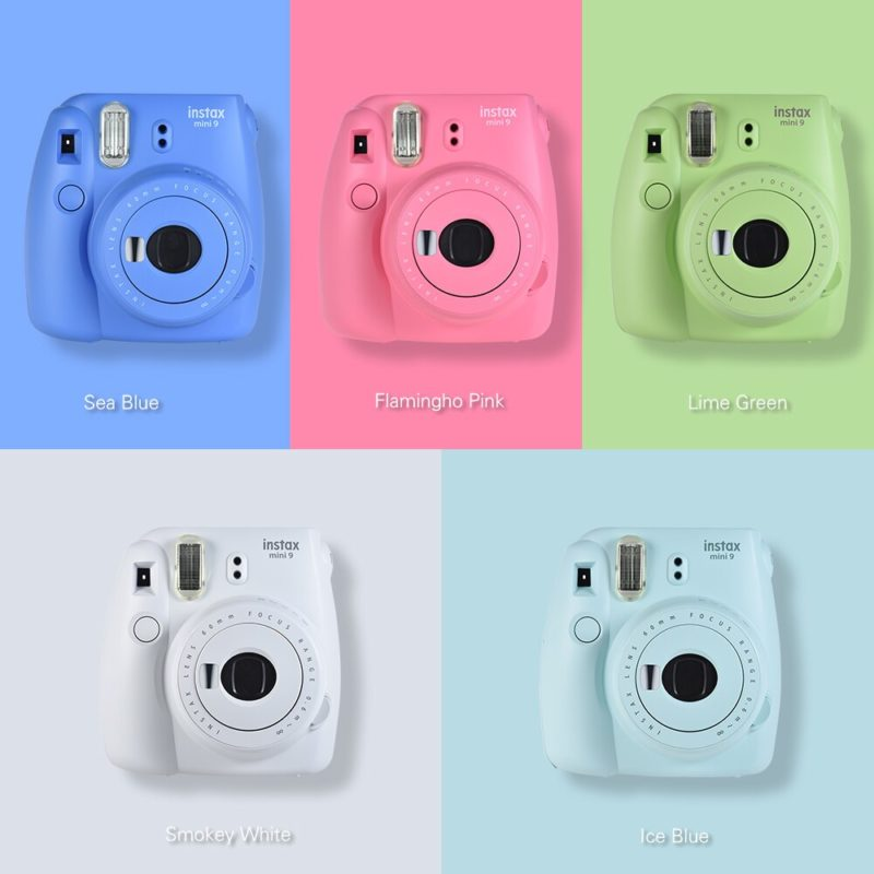 beste polaroid kamera instax mini 9