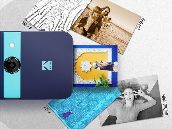 beste polaroid kamera kodak Smile instant print