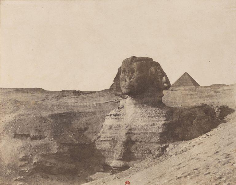 dokumentarfotografie von einer sphinx in aegypten