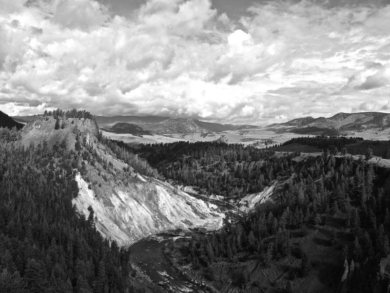 dokumentarfotografie vom yellow stone national park