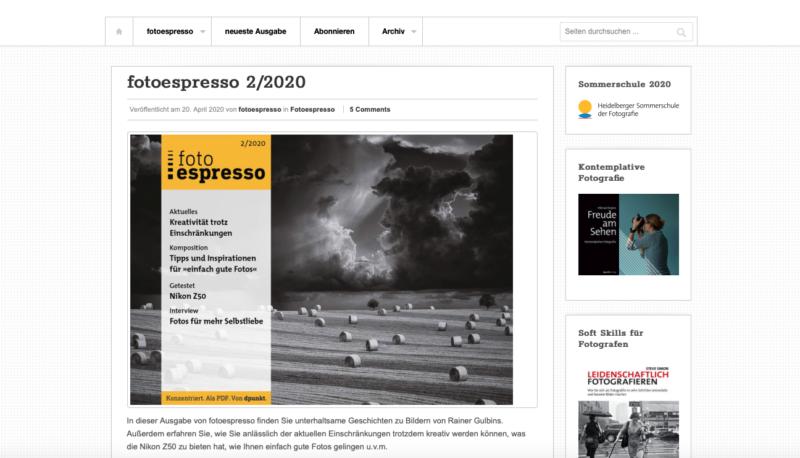 Fotozeitschriften Fotoespresso