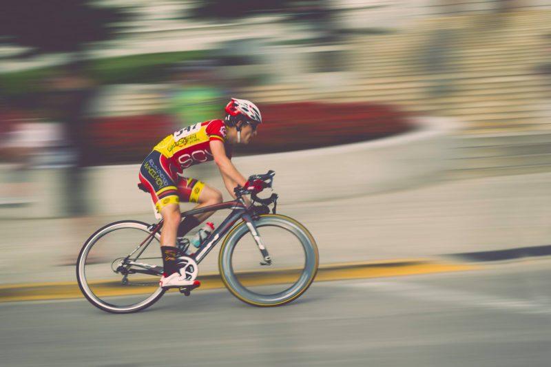 Fotografie Radrennen
