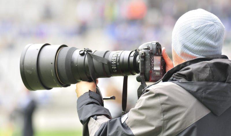 Sportfotografie Backbutton