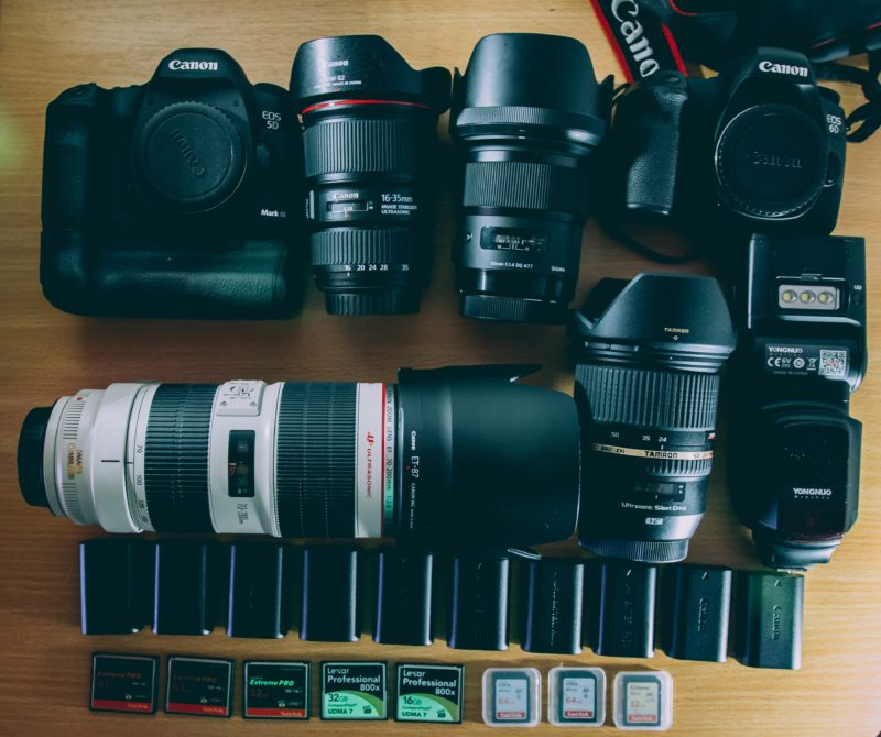 Sportfotografie Kameras