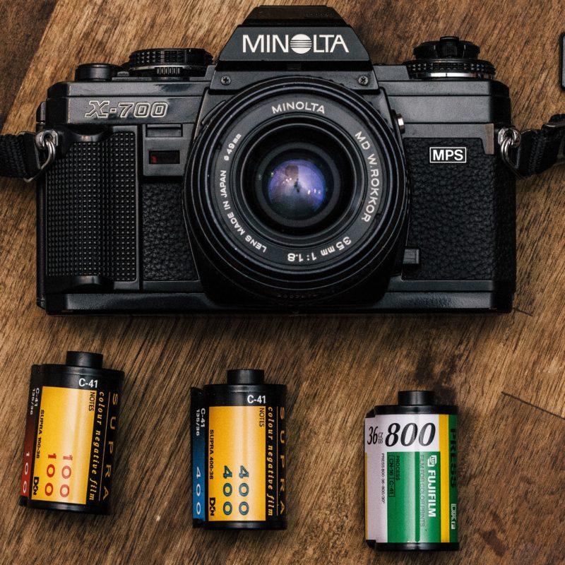 film kamera minolta x 700