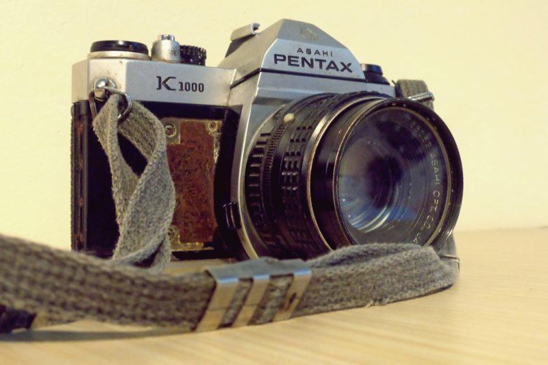 film kamera pentax k 1000