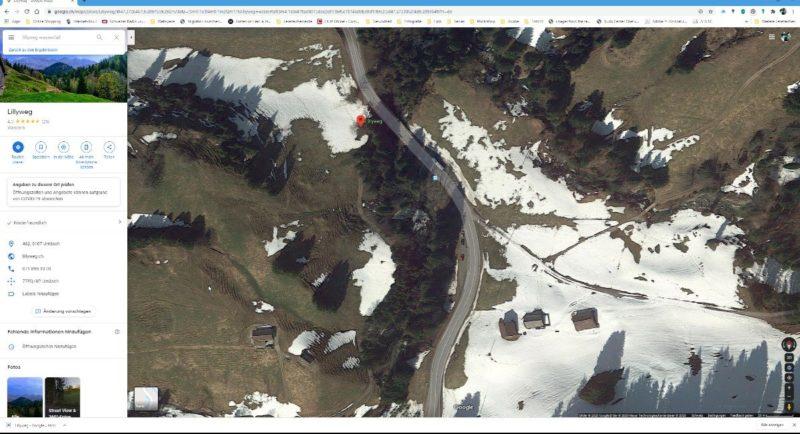 google suche nach location zum Wasser fotografieren