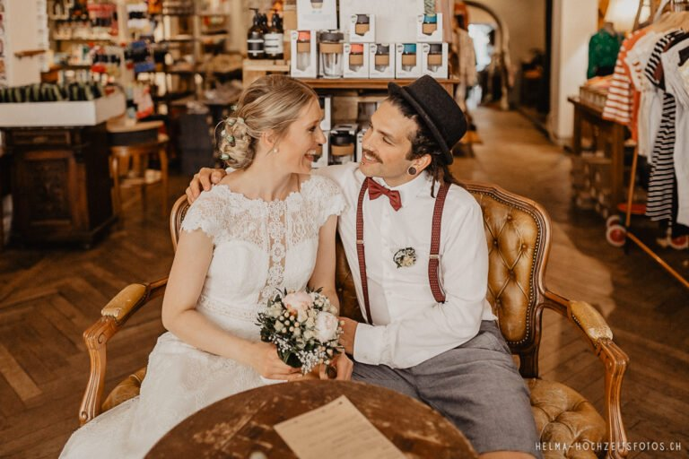 Brautpaarshooting Hochzeitsreportage