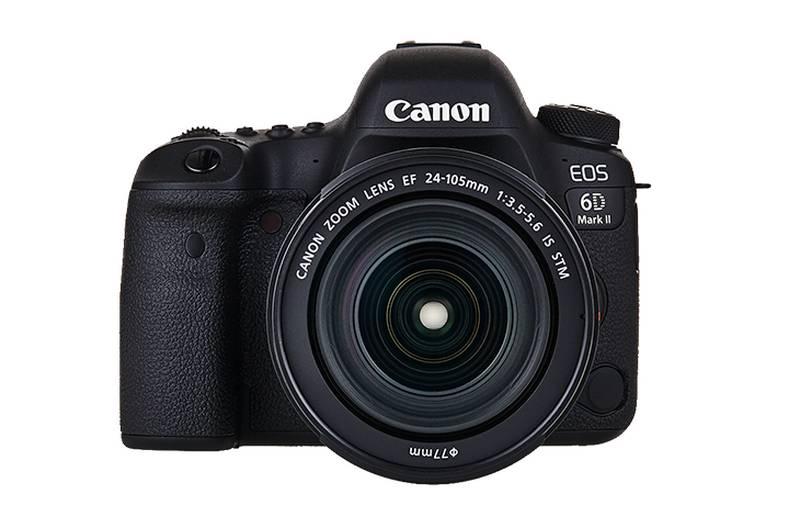 beste dslr kamera canon 6d mark ii