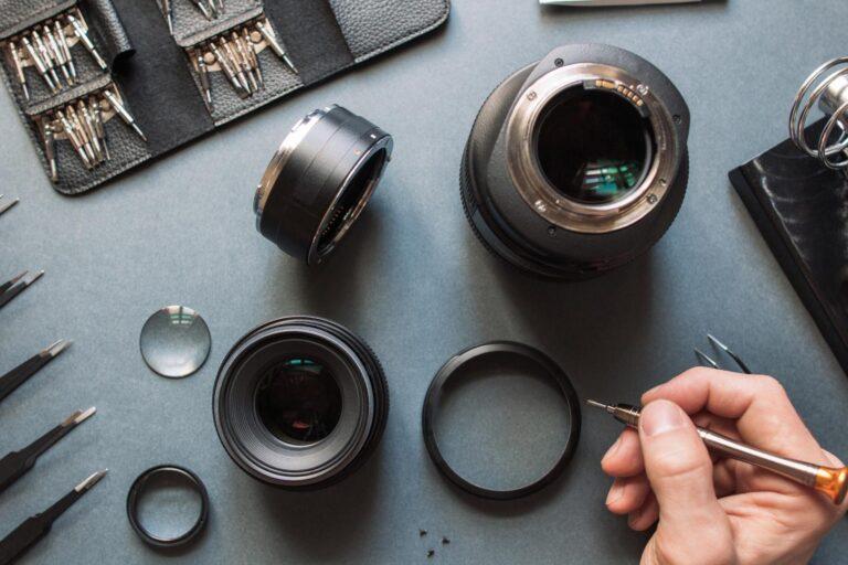 Kamera wird repariert