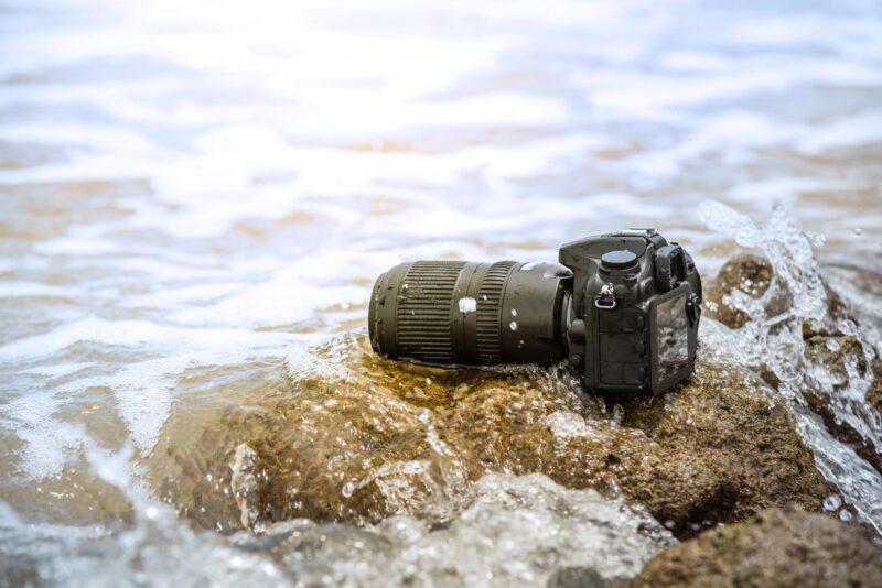 Kamera im Wasser defekt