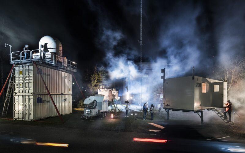 Industriefotografie Nebel